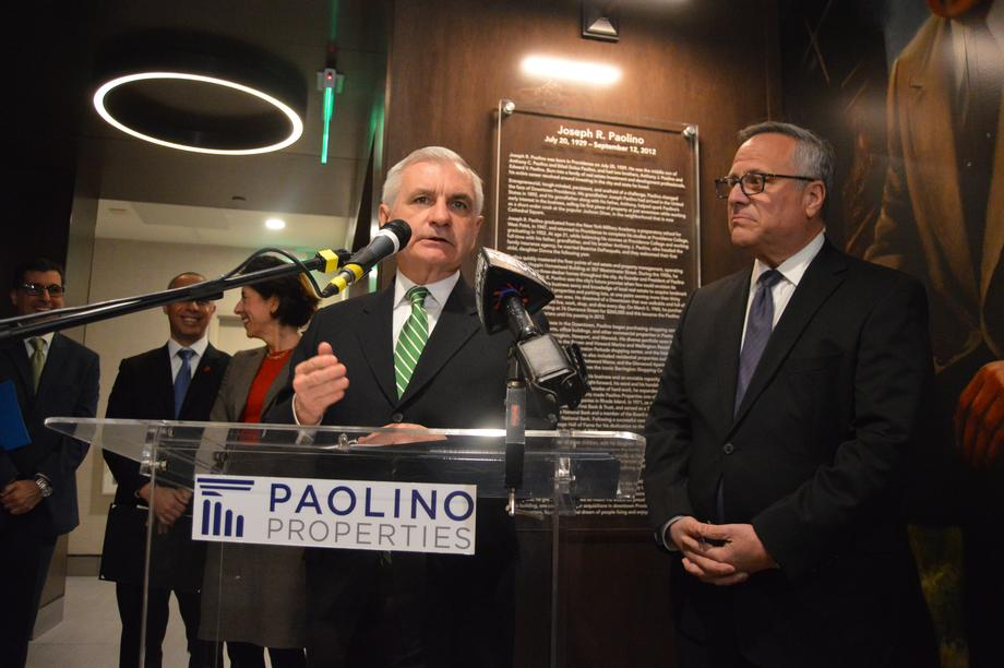 Reed, Paolino Properties Cut Ribbon on Case Mead Lofts in Providence